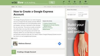 How to Create a Google Express Account: 7 Steps (with Pictures)