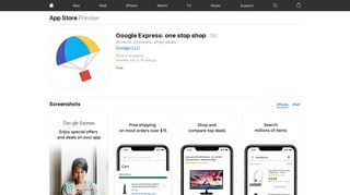 Google Express: one stop shop on the App Store - iTunes - Apple