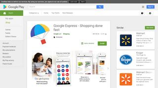 Google Express - Shopping done fast - Apps on Google Play