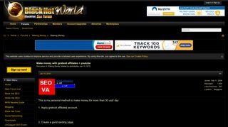 Make money with graboid affiliates + youtube | BlackHatWorld