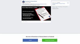 Online Registration is open! Go to... - Grandview C-4 School District ...