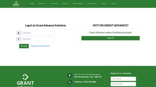 Log In to Grant Advance Solutions