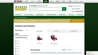 Gravely Lawn Mowers - Mowers Direct