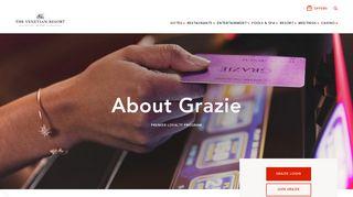 The Venetian® Las Vegas | About | Grazie