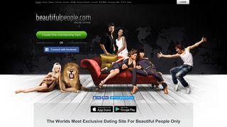 BeautifulPeople.com: Online Dating Sites, Internet Dating Websites