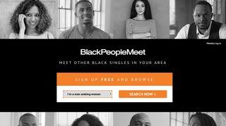 BlackPeopleMeet.com - Black Dating Network for Black Singles