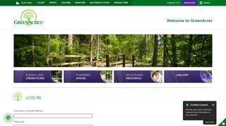 Log In   GreenAcres Park Site