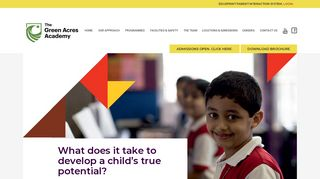The Green Acres Academy   Schools in Mumbai & Pune