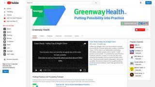 Greenway Health - YouTube