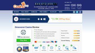 Grosvenor Casino Review 2019 - Get Your £20 FREE Today