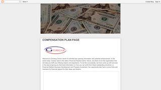 G-CIRCLE: COMPENSATION PLAN PAGE
