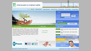 Welcome to UGVCL Consumer Web Portal