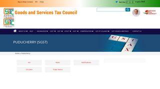 Puducherry   Goods and Services Tax Council - GST Council