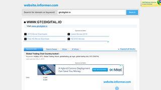 gtcdigital.io at WI. Global Trading Club Country-locked :