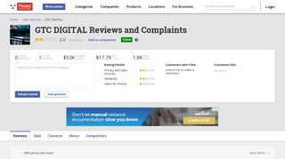 5 GTC DIGITAL Reviews and Complaints @ Pissed Consumer