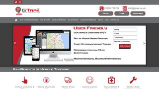 GTrak Vehicle Tracking