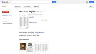 The Church Register: 1869 - Google Books Result
