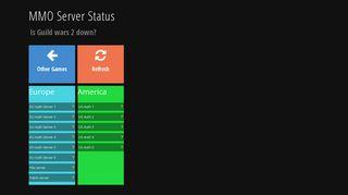 Guild wars 2 Server status! Check if it's down - MMO Server Status