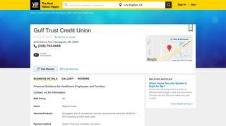 Gulf Trust Credit Union 2533 Denny Ave, Pascagoula, MS 39567 - YP ...