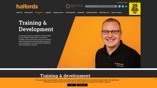 Training & Development in Halfords Autocentres   Halfords Careers