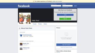 Halo Hool   Facebook