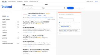 Hampshire County Council Jobs - January 2019 | Indeed.co.uk