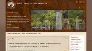 Hawaii Chocolate & Cacao Association: Membership
