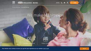 Everyday Banking - Hellenic Bank