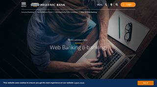 FAQs for Web Banking - Hellenic Bank