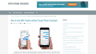 SMS Tracker without Target Phone Access: Facts and Advice