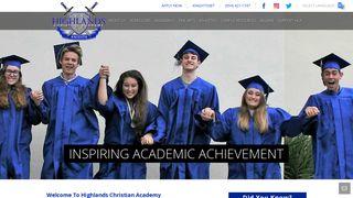Highlands Christian Academy: HCA