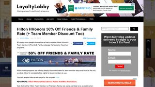 Login Hilton Friends And Family Discount or Register New ...