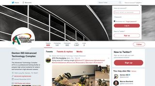 Denton ISD Advanced Technology Complex (@DentonATC) | Twitter