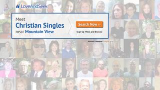 LoveAndSeek.com - Christian Singles Dating Service