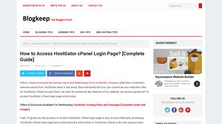 How to Access HostGator cPanel Login Page? [Complete Guide]