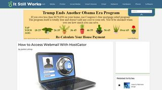 How to Access Webmail With HostGator   It Still Works