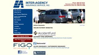 Online Payments - Inter-Agency Insurance Service, Inc.