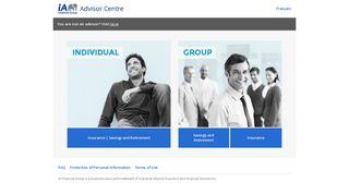 Advisor Centre - Home