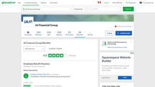 iA Financial Group Employee Benefits and Perks | Glassdoor.ca