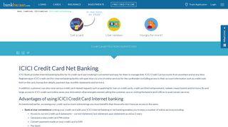 ICICI Credit Card Net Banking: Register & Login, Make Payment ...