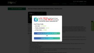 Forex Card | Travel Currency Card for International Travelers - Matrix ...