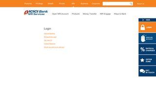 ICICI Bank Login   ICICI Bank Net Banking