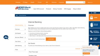 Internet Banking   Net Banking for NRIs - ICICI Bank NRI Services