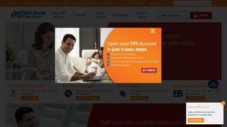 NRI Banking - NRI Bank Account - NRI Services - ICICI Bank