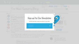 Mac Security Tip: Disable Automatic Login   The Mac Security ... - Intego