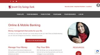 Online & Mobile Banking – Jewett City Savings Bank