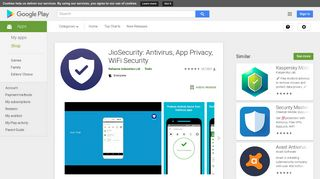 JioSecurity: Antivirus, App Privacy, WiFi Security - Apps on Google Play