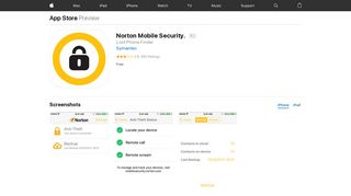 Norton Mobile Security. on the App Store - iTunes - Apple