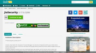 JioSecurity 3.17.0.3200 Free Download
