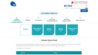 Customer Services Portal - Overview   JTC - Creating Tomorrow's ...